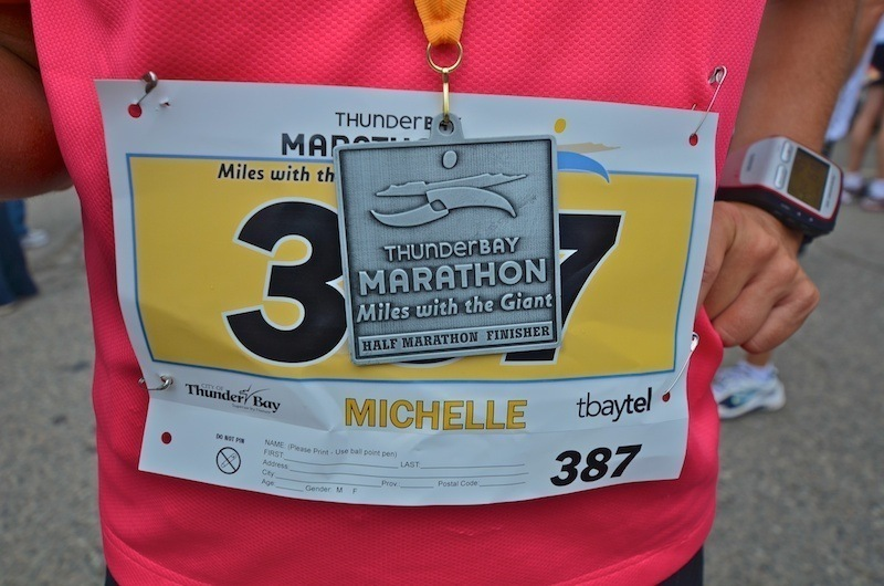 2011 Thunder Bay Marathon – Miles with the Giant