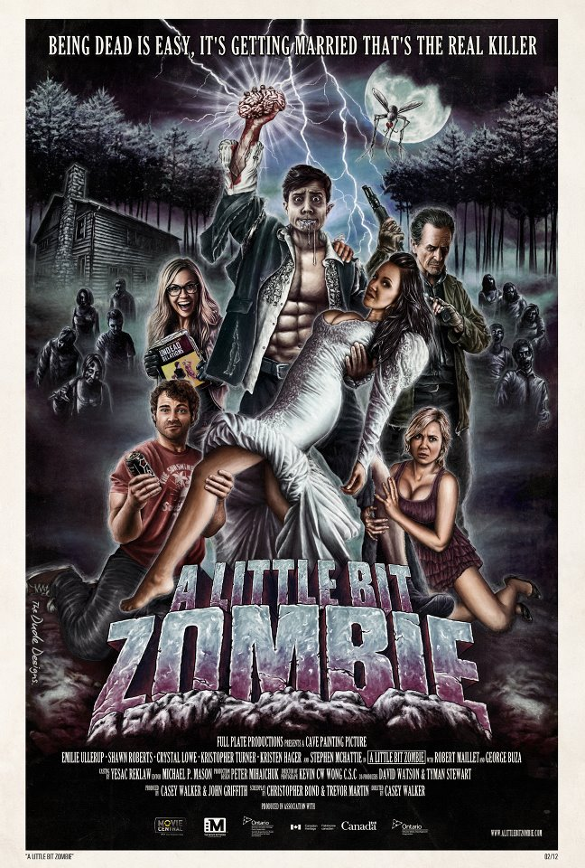 A Little Bit Zombie hits big screens across Canada this weekend!