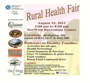2nd Annual Rural Health Fair