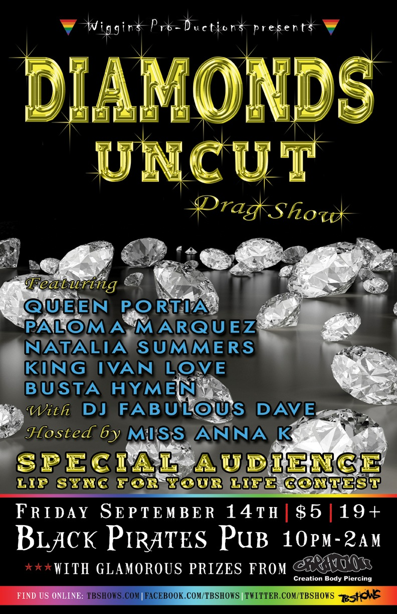Diamonds Uncut Drag & Dance Party