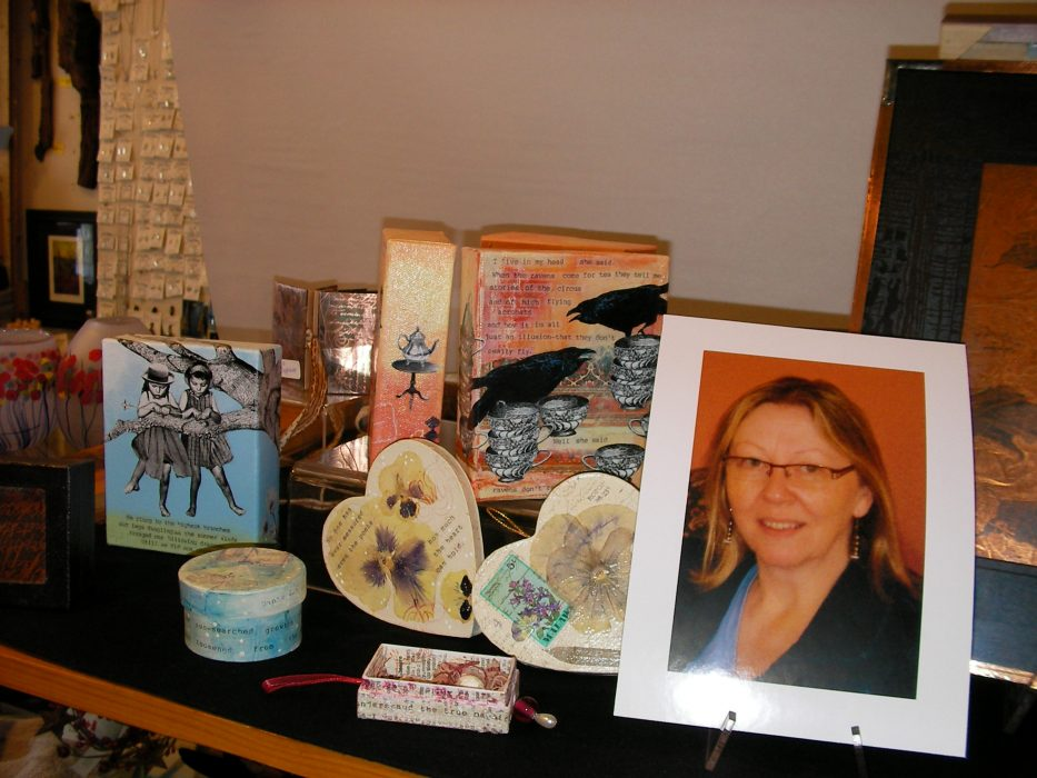 Fireweed Display Pays Tribute to Alana Syrjanen