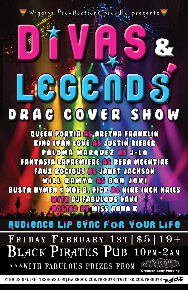 Divas & Legends Drag Cover Show