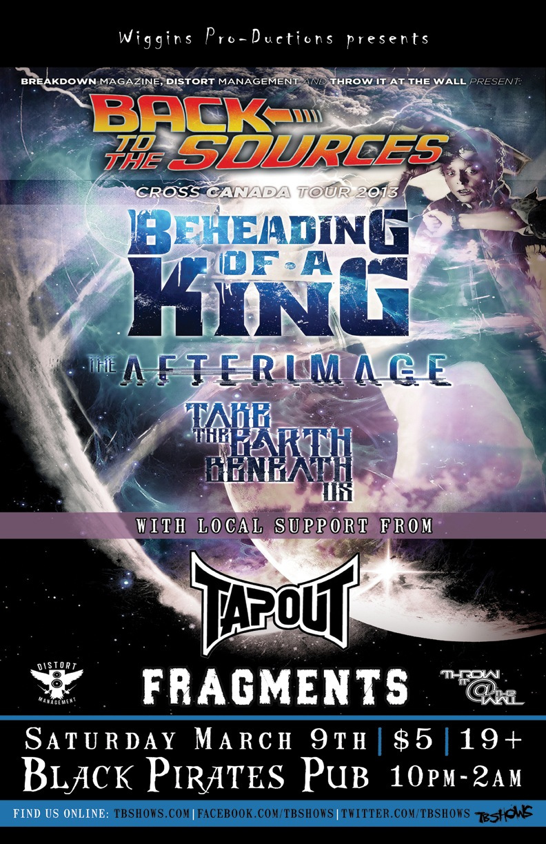 Beheading Of A King + The Afterimage + Take The Earth Beneath Us