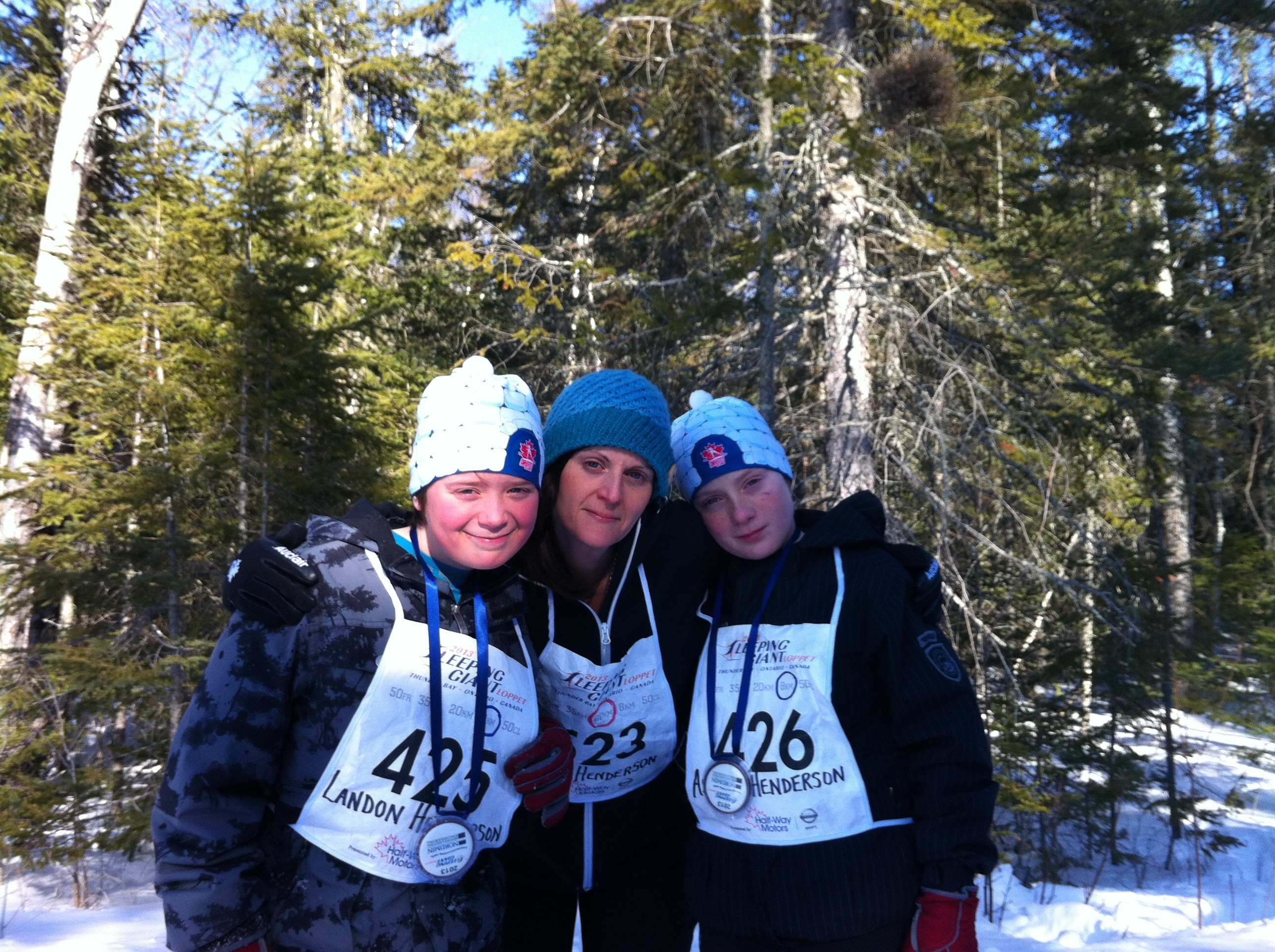 Steps and Strides: A Family that Skis Together, Stays Together