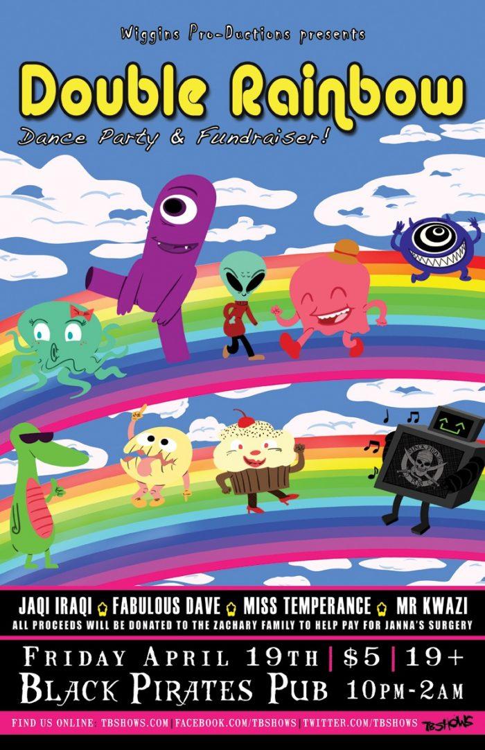 Double Rainbow Dance Party & Fundraiser
