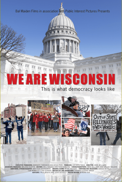 Film Screening of We Are Wisconsin & Workshop with Filmmaker Amie Williams