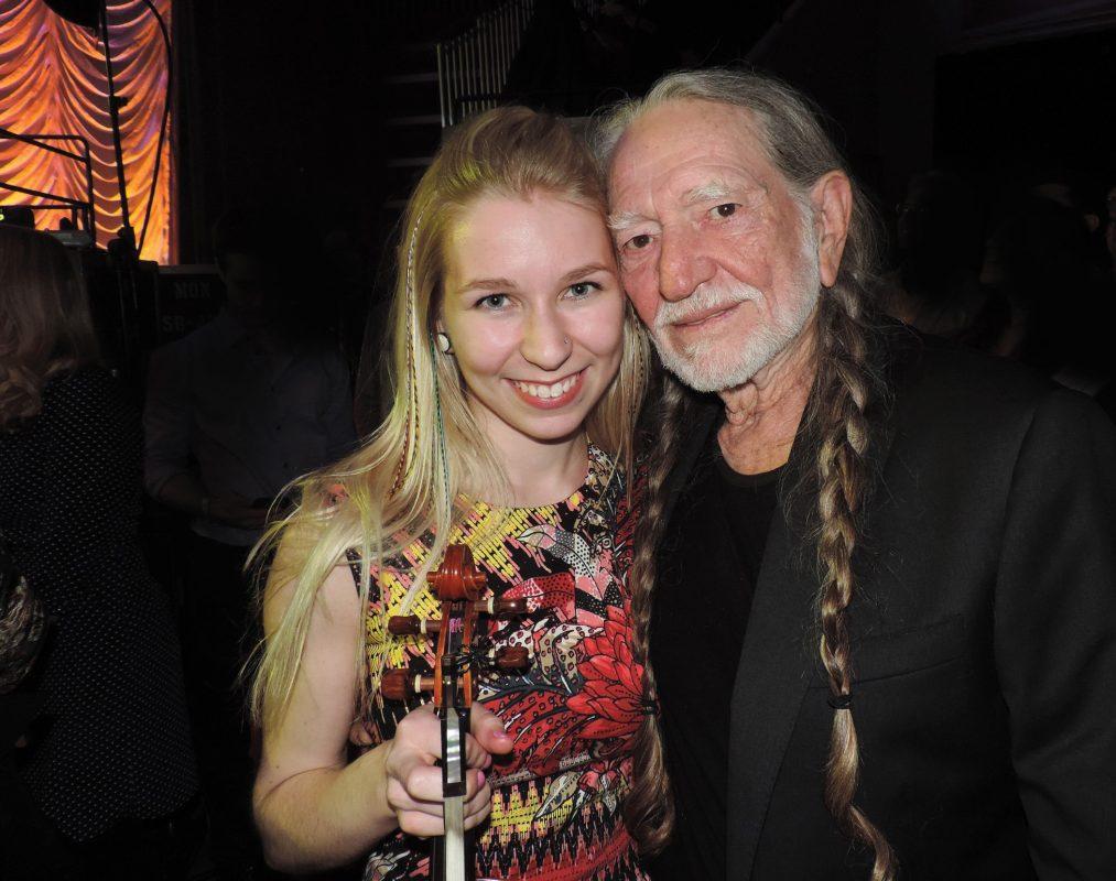 Olivia Korkola Performs with Music Legends