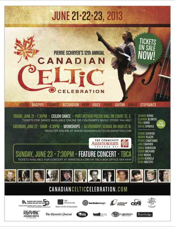 Thunder Bay's Premiere Authentic Celtic festival Is Around The Corner!