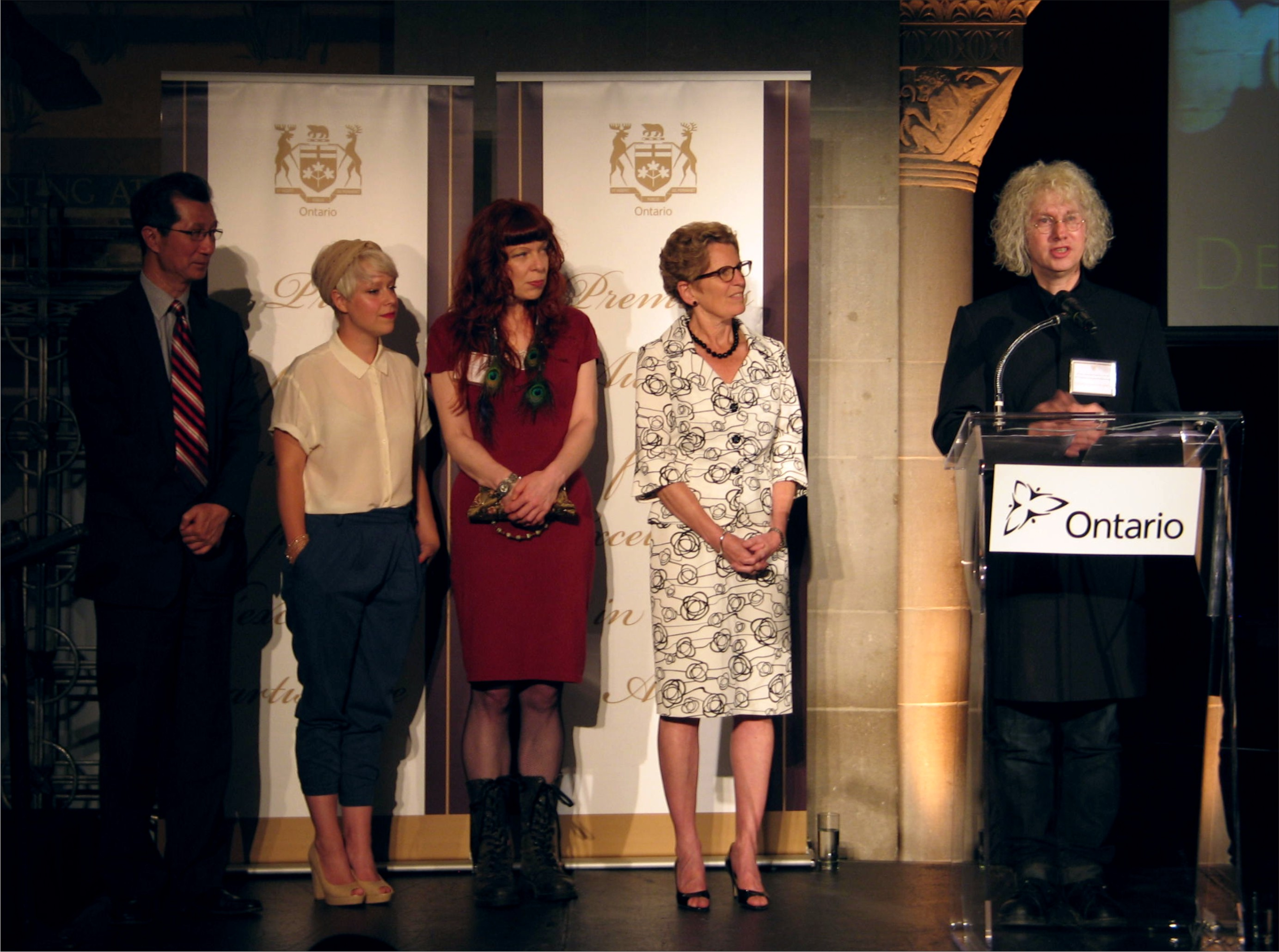 Premiers Award Acceptance Speech-2013