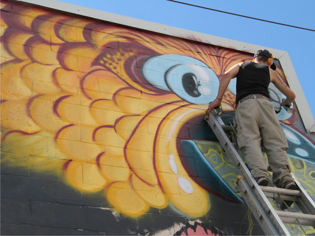 Die Active Graffiti Art – Innovative Downtown Revitalization