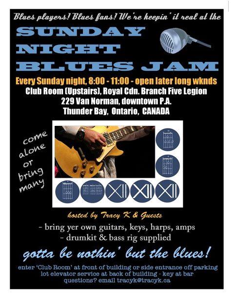 Sunday night Bluesjam (2)