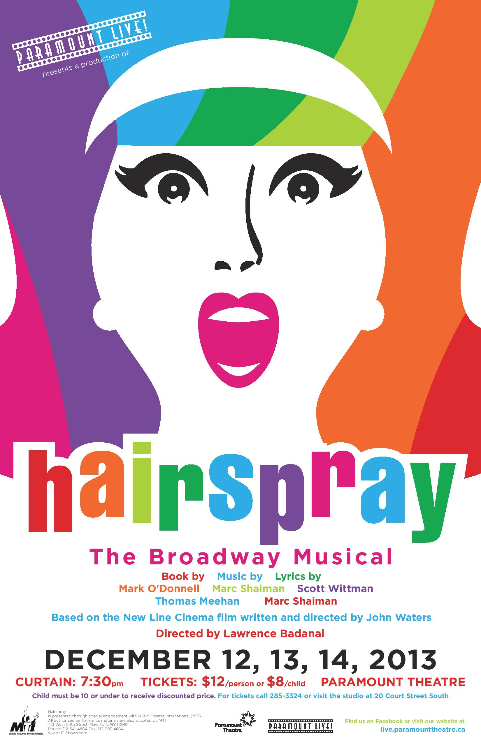 You Can't Stop the Beat: Paramount Live! Presents Hairspray