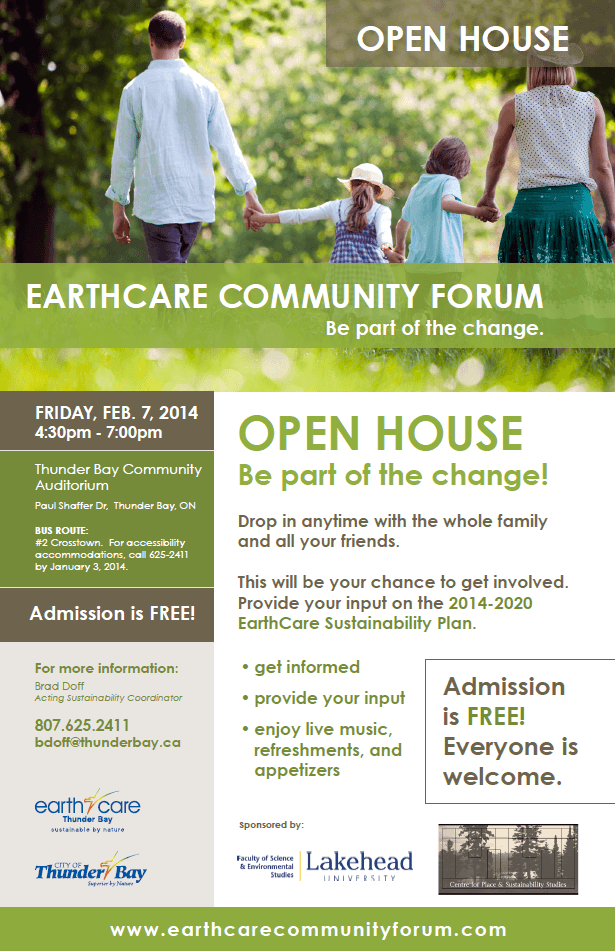 EarthCare Community Forum Open House