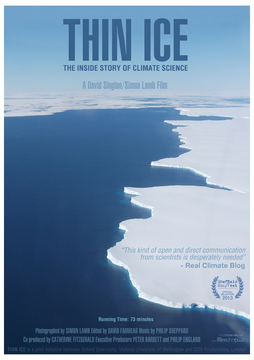 Thin Ice: The Inside Story of Climate Science – Simon Lamb