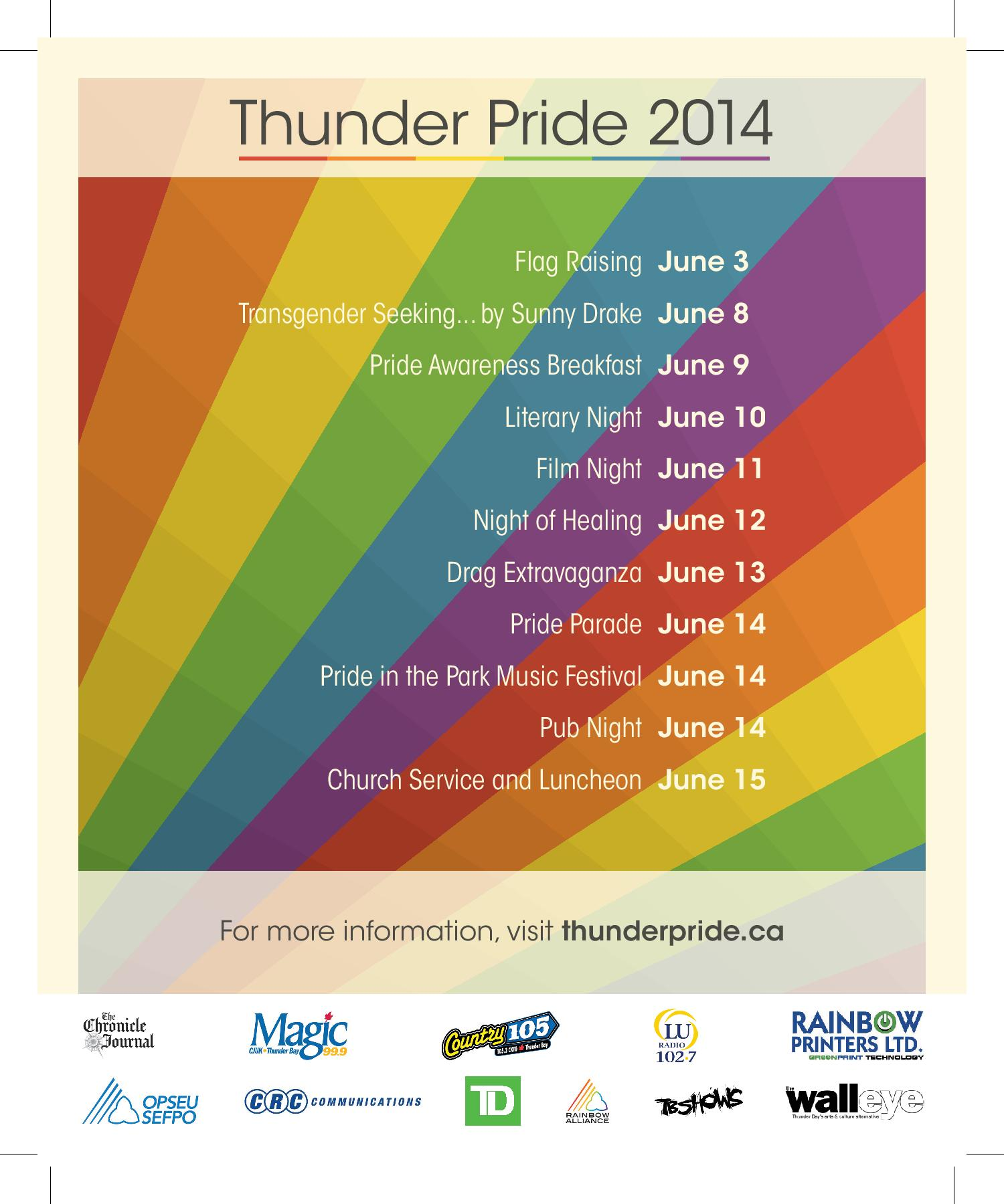 Thunder Pride Week