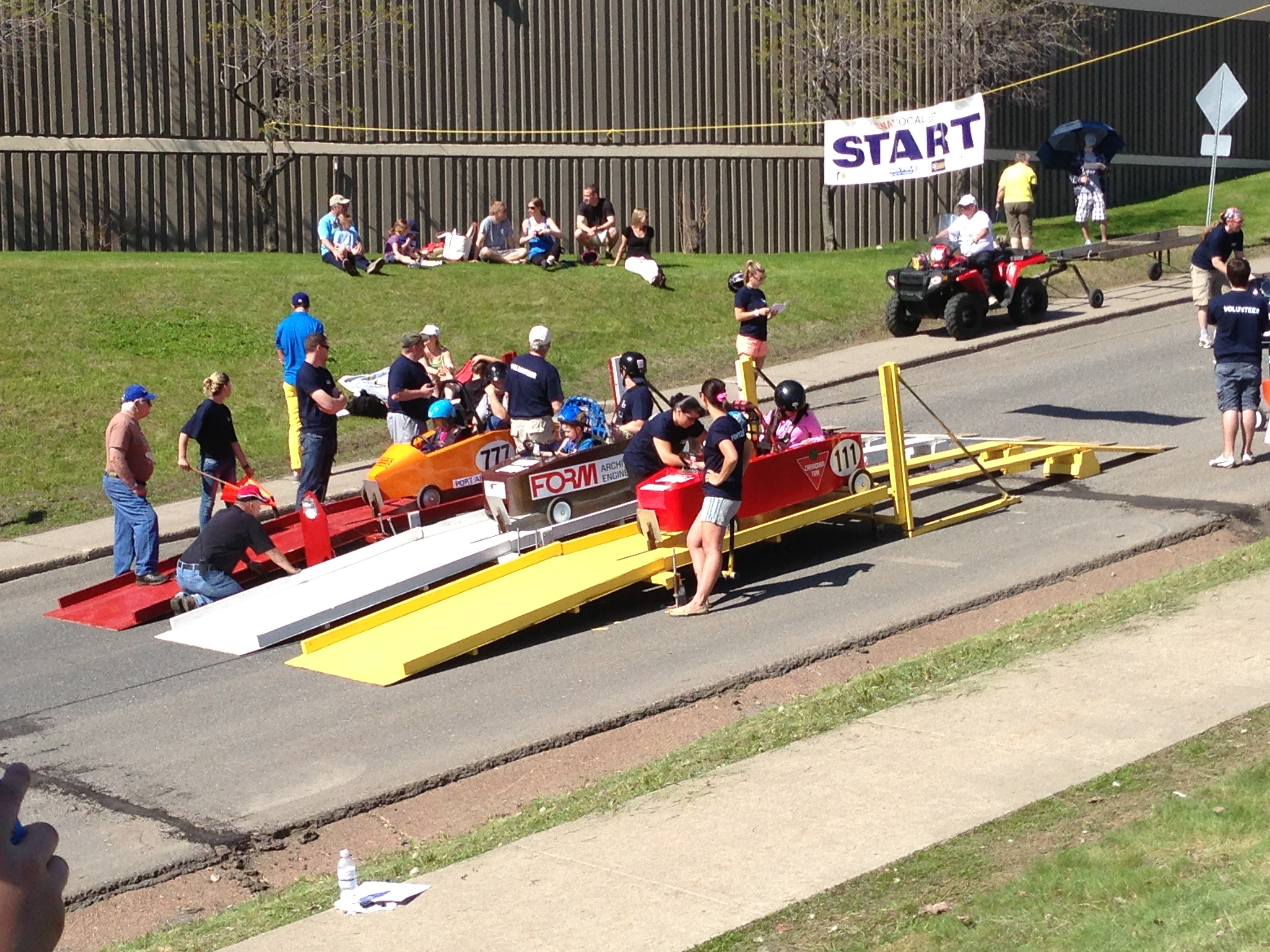 Experiencing the Thrill of the Hill: The Soapbox Races