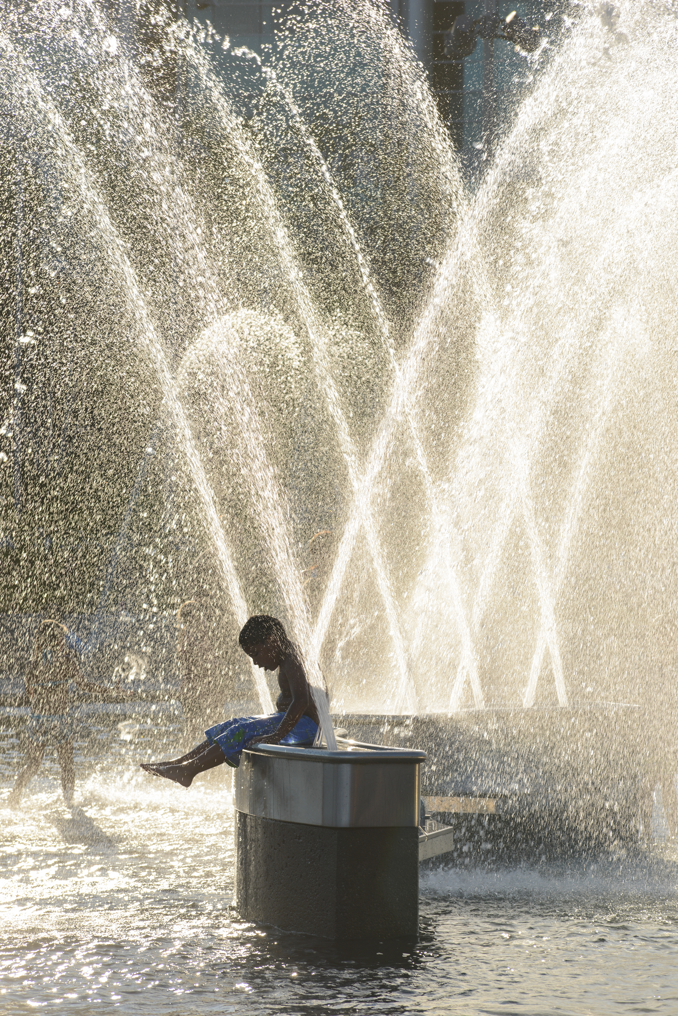 Waterfront Splash Pad and Amenities Open for Season