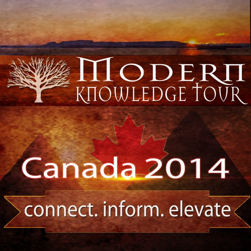 Modern Knowledge Tour 2014