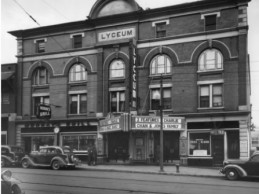 Rehabilitation Planned for Historic Lyceum Theatre