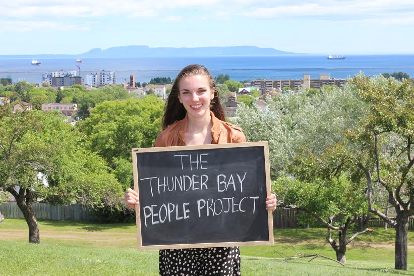 The Thunder Bay People Project: Snapshots of People and Their Thoughts