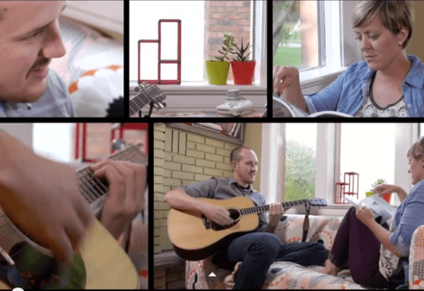 """Jean-Paul De Roover – """"Hope"""" (live in the living room) feat. Shannon Lepere"""