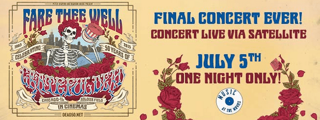 SilverCity to Broadcast Epic Grateful Dead Concert
