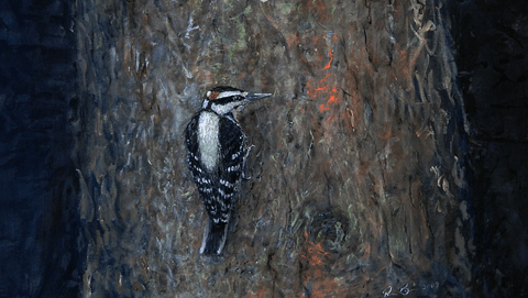 Art in the Antechamber: A Series of Bird Paintings by Rusty Brown