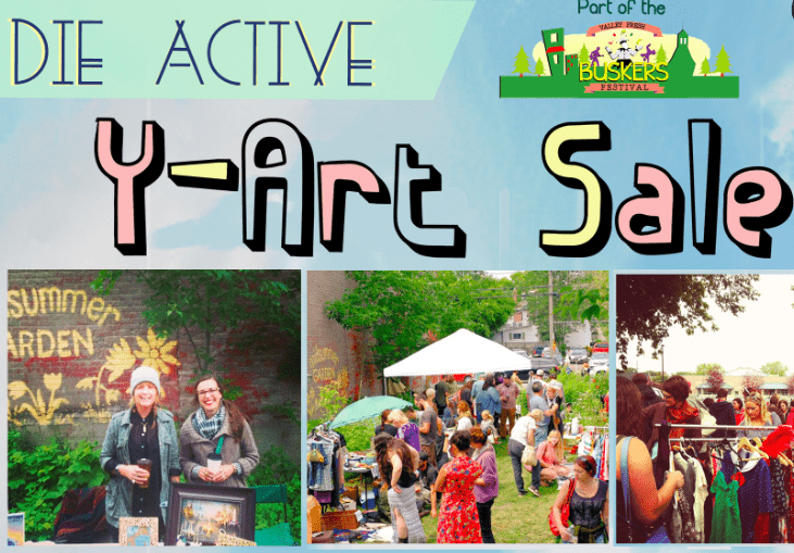 Coming July 25: Die Active Y-Art Sale