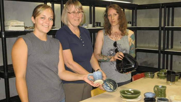 Quaint and Friendly: BBAC's Pottery Studio