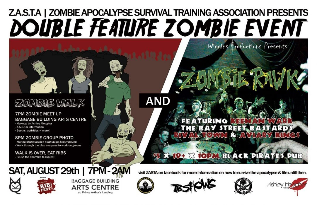 4th Annual Zombie Walk & Rawk