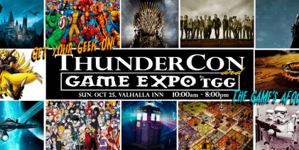 ThunderCon: Geek Out and Game On