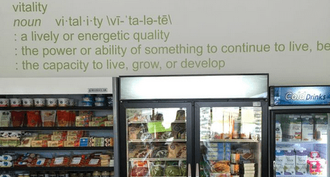 Healthy Eating and Living: Vitality Natural Food Market