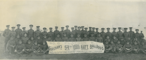 World War One and The City of the Poppy