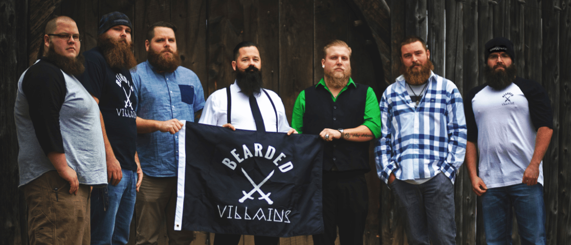 Bearded Villains: Facial Hair Brotherhood