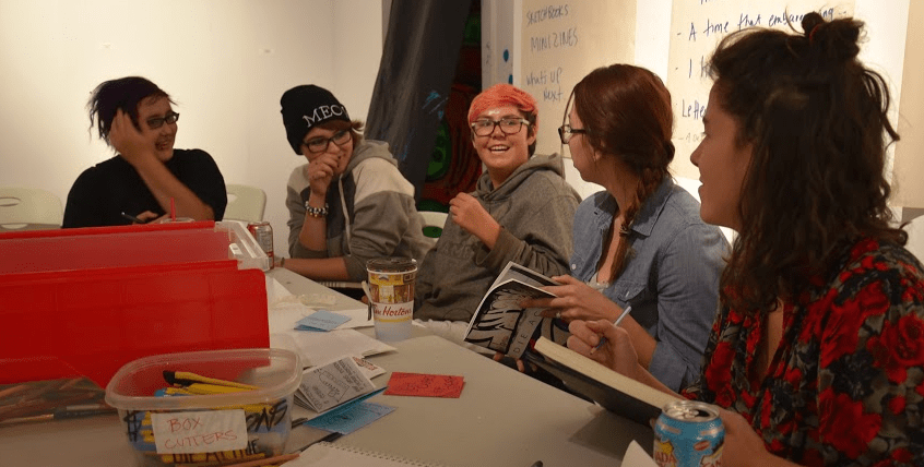 inVisible Ink — LGBTQQ2S Youth Art and Writing Group