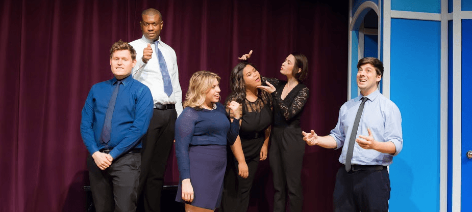 A Barrelful of Belly Laughs — Second City Offers Plenty of Laughs Sending Up Love