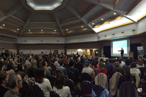 A full house at the Italian Cultural Centre for Strong Community, photo by City of Thunder Bay