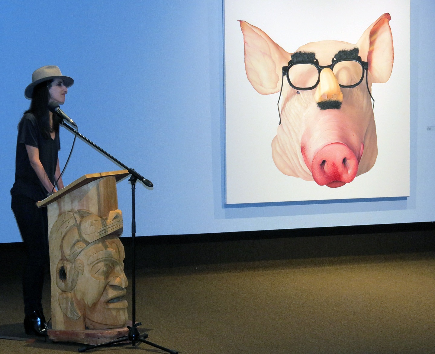 SWINE — Elizabeth Buset Unveils New Work at the Thunder Bay Art Gallery