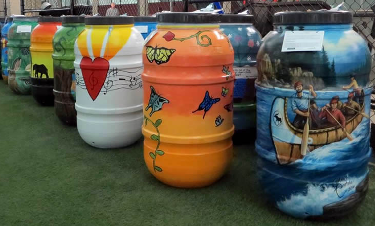 Calling All Artists! EcoSuperior Needs You to Transform Rain Barrels into Art