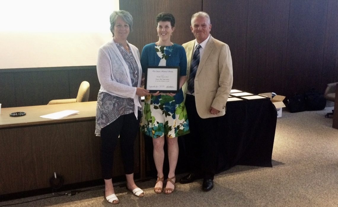 Thunder Bay Public Library Receives Provincial Award