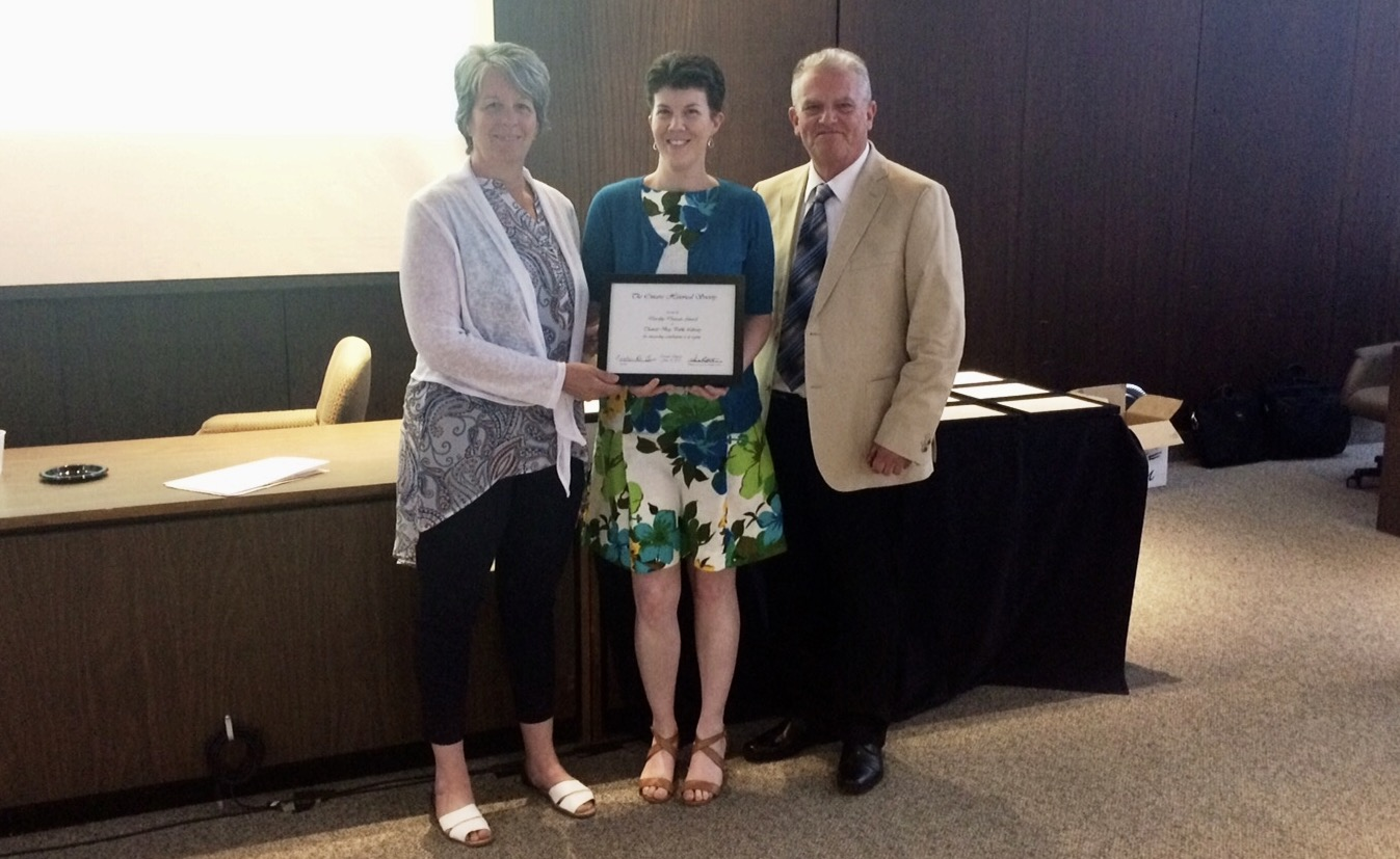 Thunder Bay Public Library Receives Provincial Award