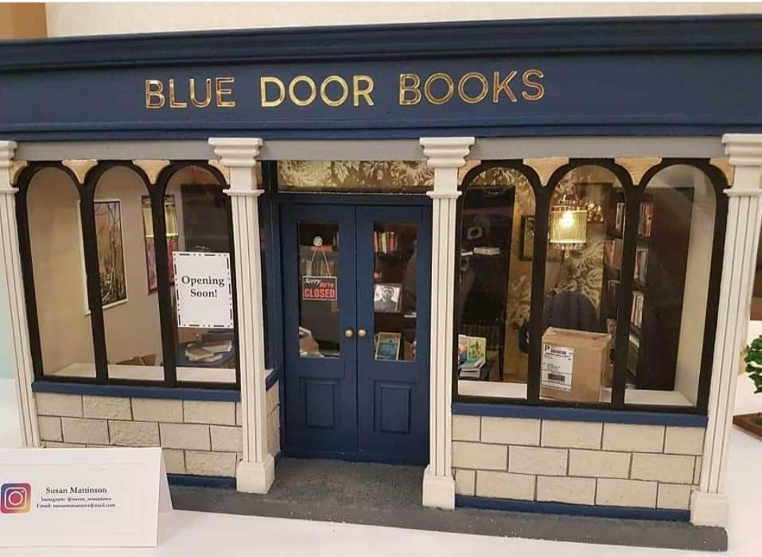 Blue Door Books Exterior